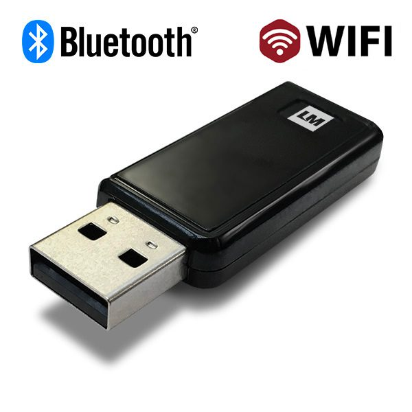 WiFi and Bluetooth® v4.0 USB Dual Mode Adapter - LM817